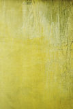 Grunge yellow cement wall background. Stock Image