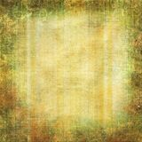 Grunge yellow - green background Stock Photography