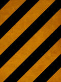 Grunge yellow lines Stock Images