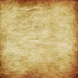Grunge yellow paper Stock Photography