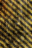 Grunge yellow stripes Stock Photography
