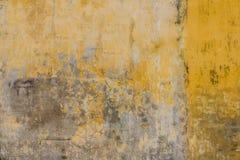 Grunge yellow wall background. Grunge yellow wall cement background Stock Photo