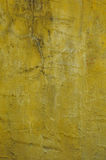 Grunge yellow wall texture Royalty Free Stock Image