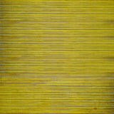 Grunge yellow wooden slatted background Stock Photography