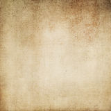 Grunge yellowed paper texture. Old yellowed and grunge paper background for the design Royalty Free Stock Photo