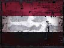 Grunge yemen Stock Image