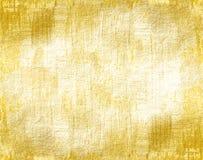 Grunge złota tło Zdjęcia Royalty Free