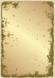 Grunge złoto Zdjęcie Stock