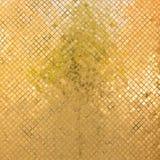 Grunge złota mozaika Obraz Stock