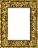 Grunge złota rama Obraz Stock