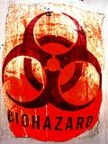 grunge zagrożenia biologicznego fotografia stock