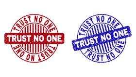 Grunge zaufanie NIKT Drapa? Woko?o Watermarks royalty ilustracja