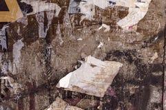 Grunge zerriß Plakathintergrund Stockbilder