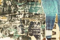 Grunge zerriß Plakathintergrund Lizenzfreie Stockbilder