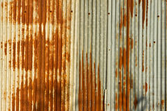 Grunge zinc sheet Stock Photography
