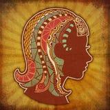 Grunge Zodiac - Virgo Stock Image