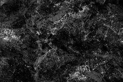 Grunge zwart-wit patroon Zwart-wit deeltjes abstracte textuur stock afbeelding
