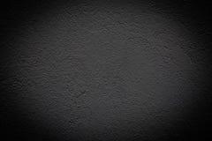 Grunge zwarte muur (stedelijke textuur) Stock Afbeelding