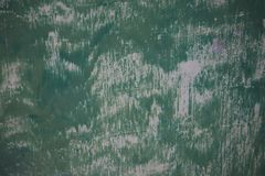 Grungeachtergrond met samenvatting gekleurde textuur Oude uitstekende krassen, vlek, verf splats, vlekken Groene muurtextuur abst stock afbeelding