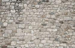 Grungeachtergrond van grijze steenmuur, ruïnes en antiquiteit, steen stock afbeeldingen