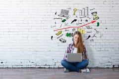 Grungeachtergrond voor Uw Publicaties Stock Afbeelding
