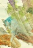 grungeakvarell royaltyfri illustrationer