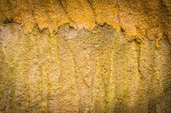 Grungebakgrund, grova murbrukväggar. För konsttextur eller vintag Royaltyfri Foto