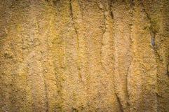 Grungebakgrund, grova murbrukväggar. För konsttextur eller vintag Fotografering för Bildbyråer