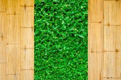 Grungebakgrund med grönt utrymme Arkivbild