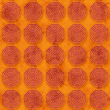 Grungebakgrund med oktogon baserade cirkeln formar (sömlöst) Royaltyfria Bilder