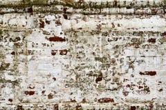 Grungebakstenen muur van het oude huis Royalty-vrije Stock Fotografie