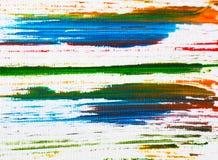 Grungeband fodrar Kritavektortexturer seamless modell Strimmiga f?rgpennablyertspennaslagl?ngder Utdragen pastell f?r hand Ljus r vektor illustrationer