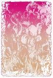 grungebokstavsförälskelse royaltyfri illustrationer
