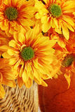 Grunged Autumn Bouquet Stock Images