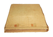 Grunged cardboard box Stock Photos