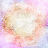 Grunged Pastels Abstract Royalty Free Stock Image