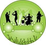 grungedeltagare Arkivbild