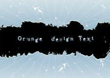 Grungedesigntext Arkivfoton