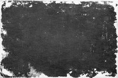 Grungedocument textuur, grens en achtergrond Royalty-vrije Stock Foto's