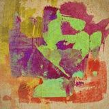 Grungedocument textuur, uitstekende achtergrond Stock Foto's