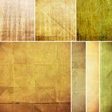 Grungedocument textuur, uitstekende achtergrond Stock Foto