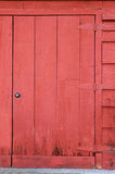 Grungee old barn door Royalty Free Stock Photography