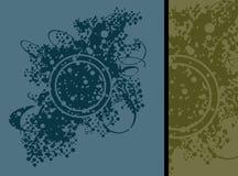 grungefärgstänk Arkivfoton
