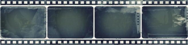 Grungefilmram med utrymme för text eller bild royaltyfri bild