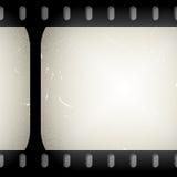 Grungefilmstrip Stock Afbeeldingen