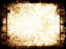 Grungefilmstrip Arkivfoto