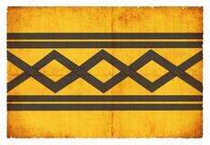 Grungeflagga av West Midlands Storbritannien Arkivfoto