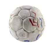 Grungefotboll Royaltyfria Bilder