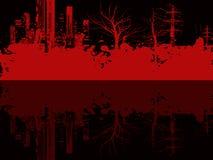 grungeillustration Arkivfoto