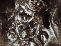 Grungekonstträbakgrund och textur för bakgrund Royaltyfria Foton
